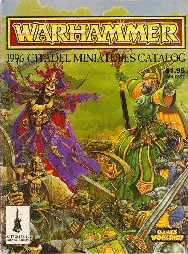 Warhammer 1996 Citadel Miniatures Catalog