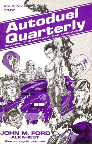 Autoduel Quarterly: Vol. 3, No. 3 (Car Wars)
