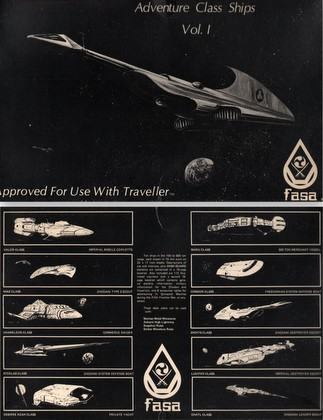 Adventure Class Ships, Vol. 1 (Traveller)