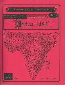 Africa 1483 Expansion for Europe/Asia 1483 Territorial Board Game