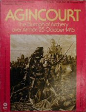 Agincourt: The Triumph of Archery over Armor, 25 October 1415 (Military History Simulation Game), James F. Dunnigan