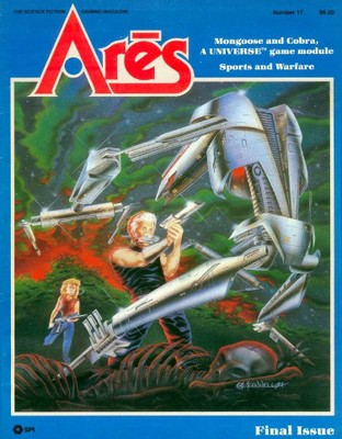Ares Magazine #17 with Mongoose & Cobra, a Adventure Scenario for Universe Role Playing Game