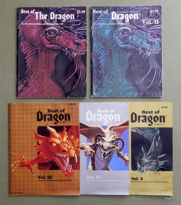 Dragon Accessories - Wayne's Books RPG Reference