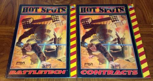 Hot Spots: Contracts (Battletech) [2-book set]