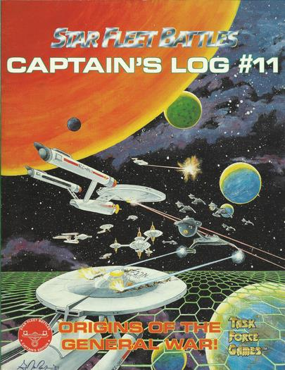 Captain's Log #11 (Star Fleet Battles)