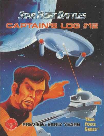Captain's Log #12 (Star Fleet Battles)