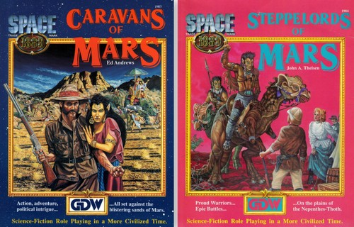 Space 1889 Wayne S Books Rpg Reference