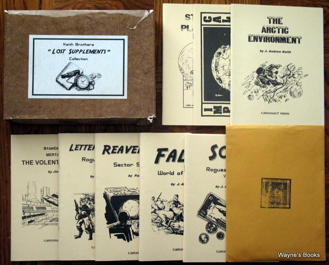 Classic Traveller - Cargonaut Press - Wayne's Books RPG Reference