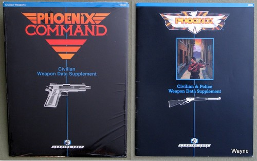 Phoenix Command Small Arms Combat System - Wayne's Books RPG Reference
