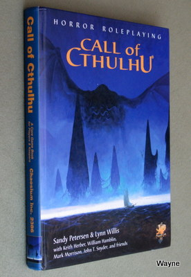 Call of cthulhu core books waynes books rpg reference this edition is one of the most popular of the many versions of call of cthulhu fandeluxe Image collections