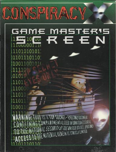 Conspiracy X: Game Master's Screen