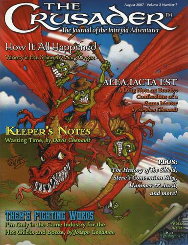 Crusader Journal: Castles & Crusades Magazine, Vol 3 No 7 (August 2007)