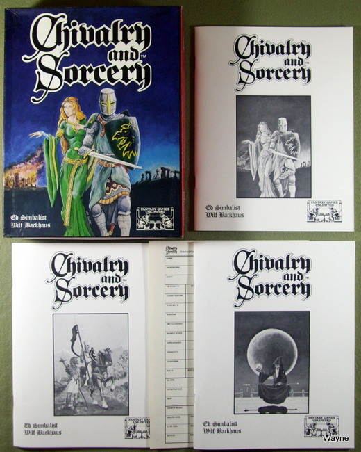 Chivalry & Sorcery (2nd Edition), Ed Simbalist & Will Backhaus