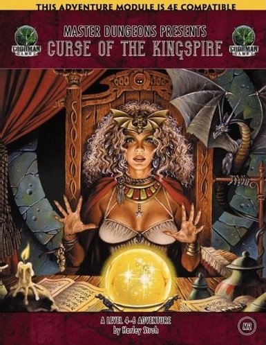 Master Dungeons M2: Curse of the Kingspire (Dungeons & Dragons 4E)