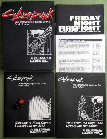 Cyberpunk: The Roleplaying Game of the Dark Future (1st edition)