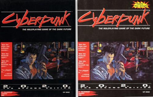 Cyberpunk - R  Talsorian Games - Wayne's Books RPG Reference