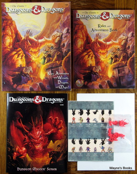 Dungeons Dragons Dd Classic Core Rules Waynes Books Rpg
