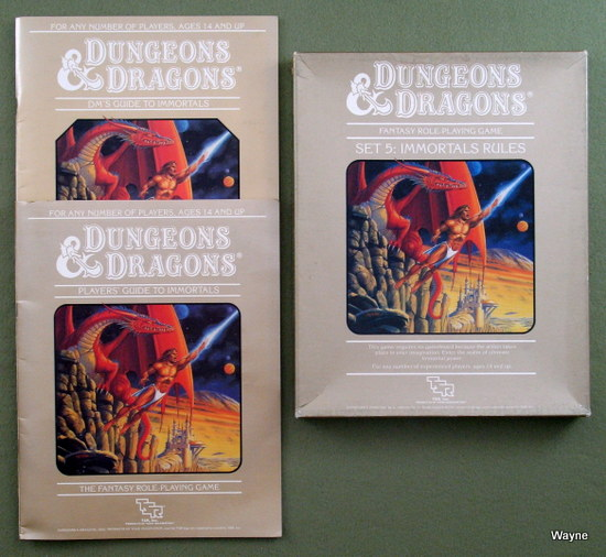 Dungeons & Dragons (D&D classic) core rules - Wayne's Books RPG
