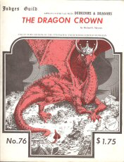 The Dragon Crown (Dungeons & Dragons) - 1ST PRINTING, Michael Mayeau & Paul Jaquays