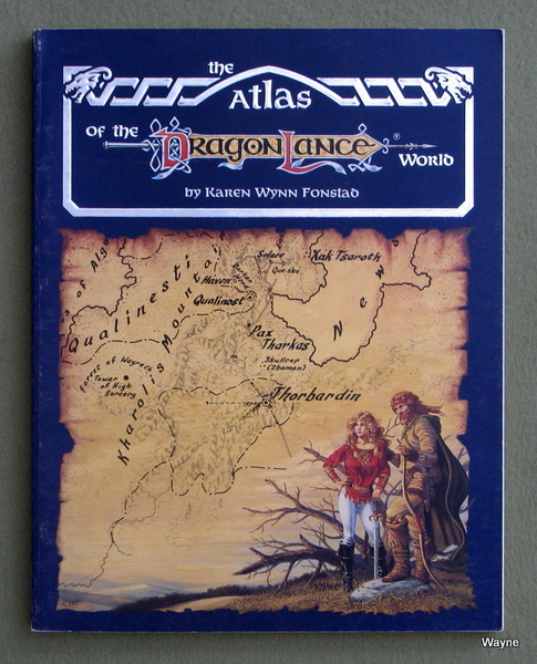 Dragonlance Accessories - Advanced Dungeons & Dragons (AD&D ... on neverwinter map, world diplomacy map, baldur's gate map, greyhawk map, isle of dread map, athas map, glorantha map, forgotten realms map, nirn world map, norrath map, treasure map,