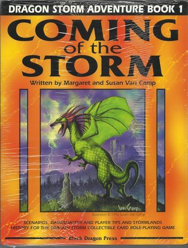 Coming of the Storm (Dragon Storm Adventure, Book 1), Margaret & Susan Van Camp