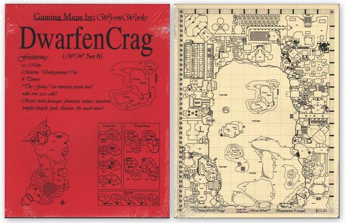 Dwarfen Crag: Gaming Maps