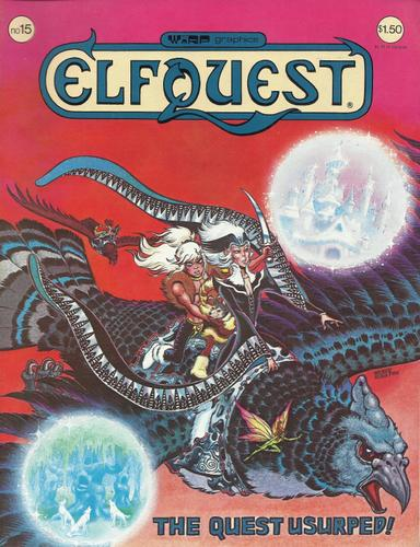 Elfquest # 15: The Quest Usurped!, Pini, Richard & Wendy Pini