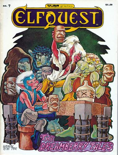 Elfquest # 7: The Dreamberry Tales, Richard & Wendy Pini