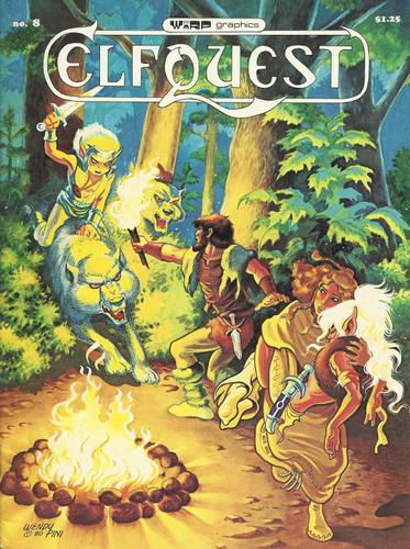 Elfquest # 8: Hands of the Symbol Maker, Pini, Richard & Wendy Pini