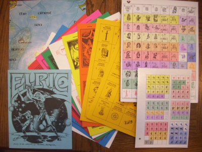 Elric board game, 1st edition (Based on the character by Michael Moorcock), Greg Stafford