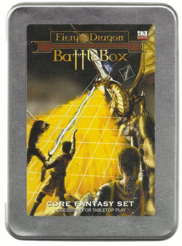 Fiery Dragon Battle Box: Core Fantasy Set (Accessory for Tabletop Play)