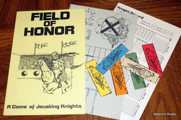 Field of Honor: A Game of Jousting Knights, David F. Nalle
