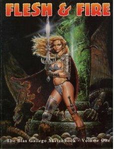 Flesh & Fire: The Blas Gallego Sketchbook (Volume 1)