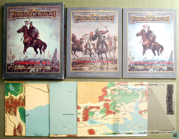 Forgotten Realms Campaign Sets - Advanced Dungeons & Dragons (AD&D