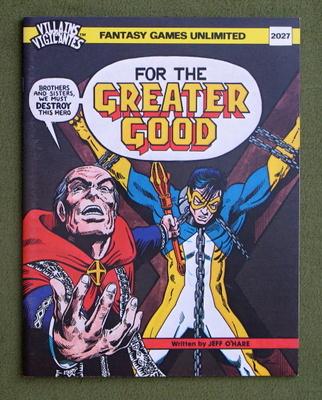 Villains and Vigilantes #2 FN 1987 Stock Image