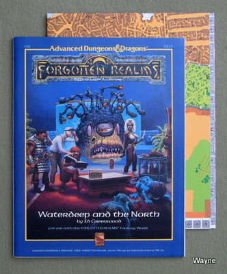 Forgotten Realms Accessories Pt1 - Advanced Dungeons