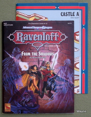 Ravenloft Modules - Advanced Dungeons & Dragons (AD&D