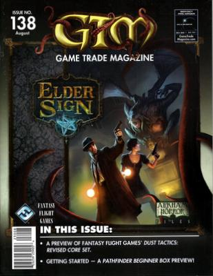 Game Trade Magazine, Issue 138 (August 2011)