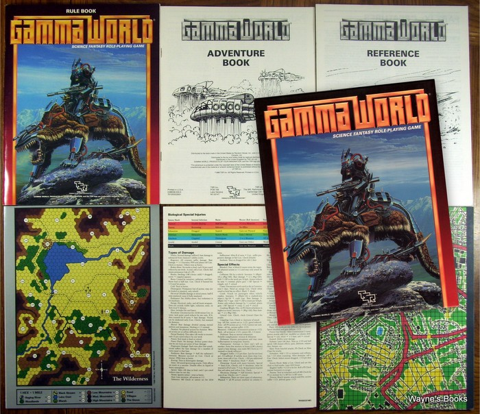 GAMMA WORLD 2ND EDITION BOX SET By Ward James - Hardcover