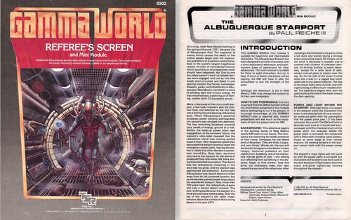 Gamma world waynes books rpg reference includes 8 page mini module the albuquerque starport by paul reiche iii gumiabroncs Images