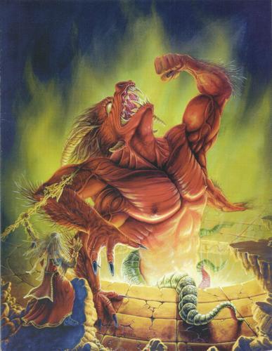 Of Gods and Men Gamemasters Screen, Jeffrey Konkol & Pat Belland