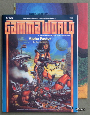 Gamma world waynes books rpg reference credits claim keith parkinson as the cover artist but the art and monogram are clearly that of clyde caldwell gumiabroncs Choice Image