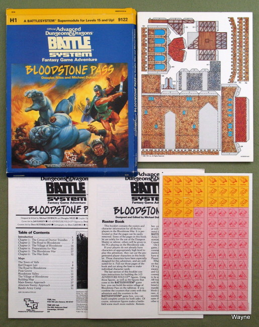 Forgotten Realms Modules: Bloodstone - Advanced Dungeons & Dragons