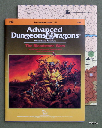 Forgotten Realms Modules: Bloodstone - Advanced Dungeons