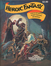 Heroic Fantasy Rulebook: A Play-By-Mail Game of Dungeon Exploration and Adventure