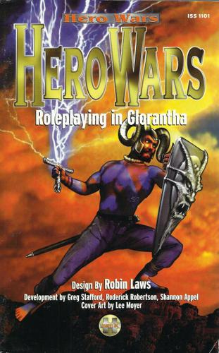 Hero Wars: Roleplaying in Glorantha - SIGNED