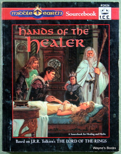 Hands of the Healer (Middle Earth Role Playing/MERP), Feil, Mark R.