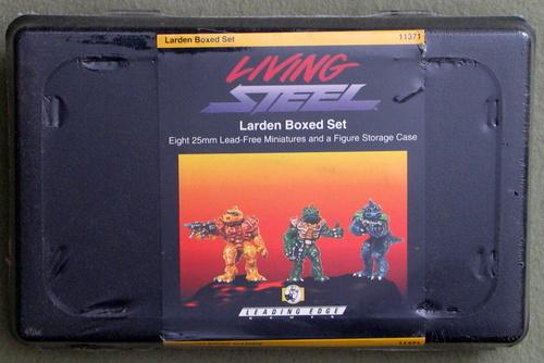Larden Boxed Set (Living Steel)