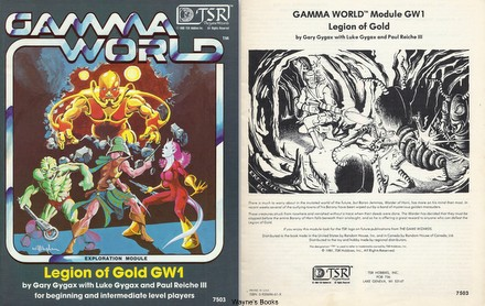 Gamma world waynes books rpg reference though james ward developed gamma world gary gygax put his unmistakable imprint on the game in writing its first module the erol otus art on the title gumiabroncs Choice Image