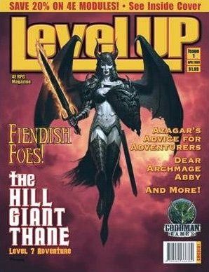 Level Up Magazine, Issue 1 (4th Edition D&D)